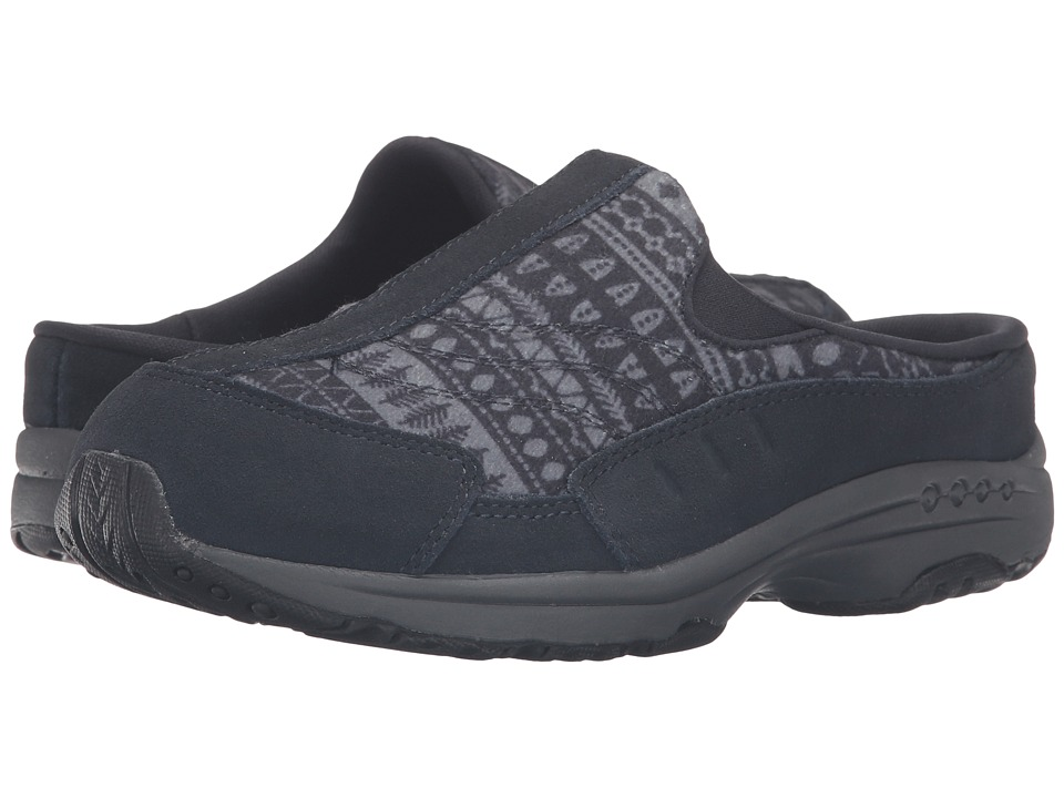Easy Spirit - Traveltime 224 (Navy/Navy Multi Suede) Women's Shoes