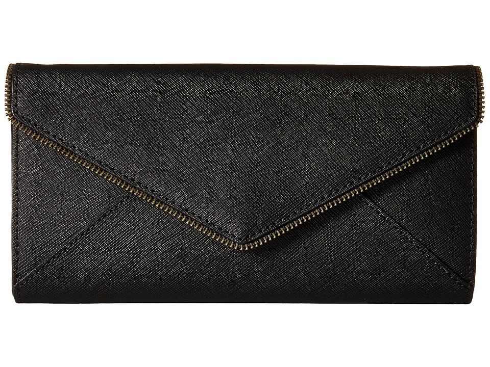 Rebecca Minkoff - Cleo Wallet on a Chain (Black 1) Wallet Handbags