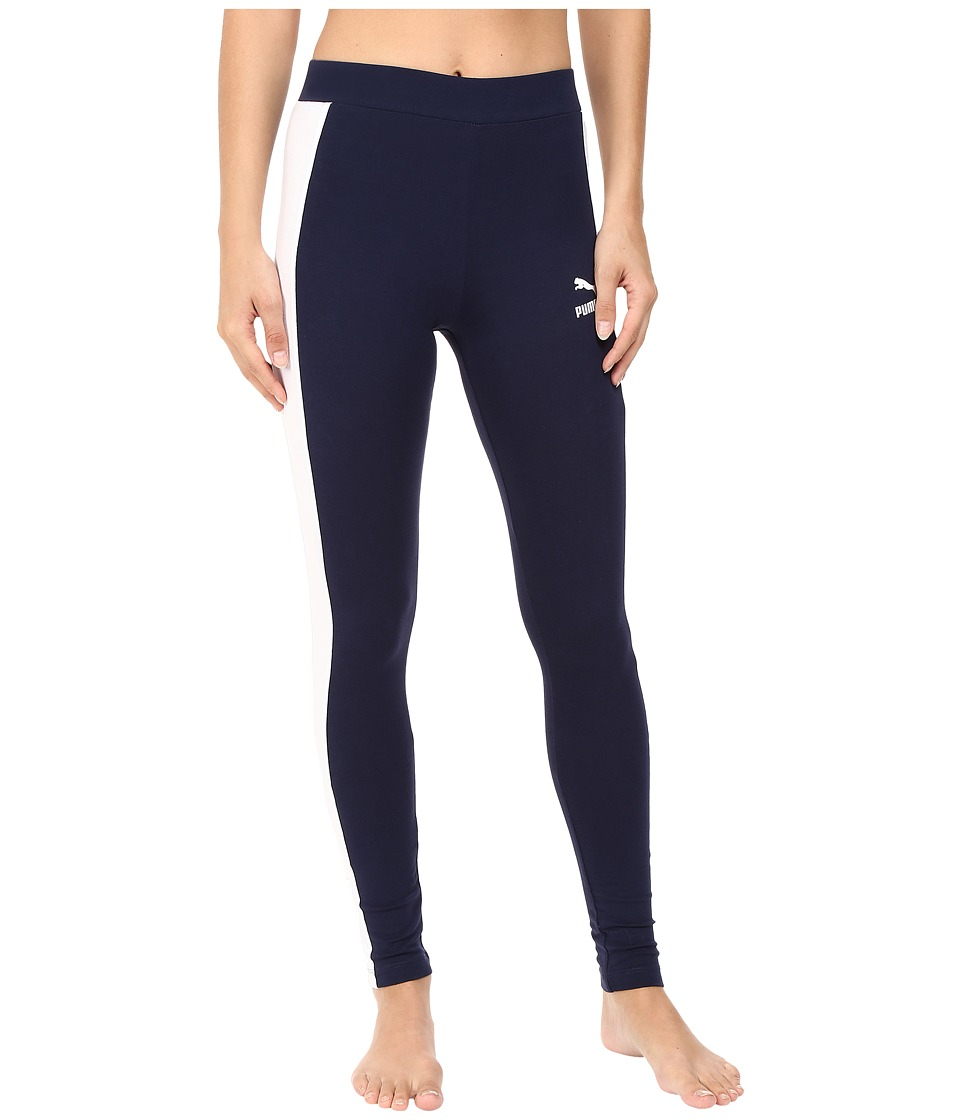 PUMA - T7 Leggings (Peacoat) Women's Casual Pants