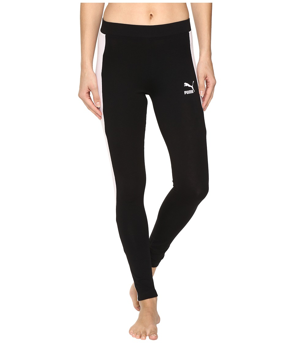 PUMA - T7 Leggings (Cotton Black 1) Women's Casual Pants