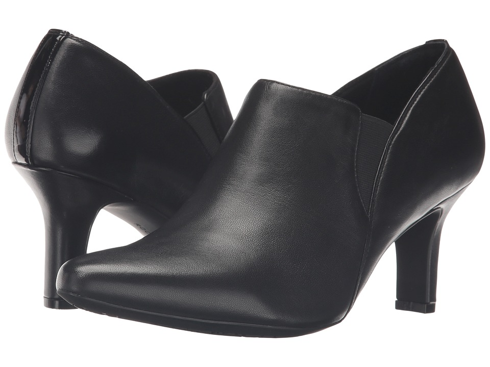 Rockport - Sharna Twin Gore (Black Leather) High Heels