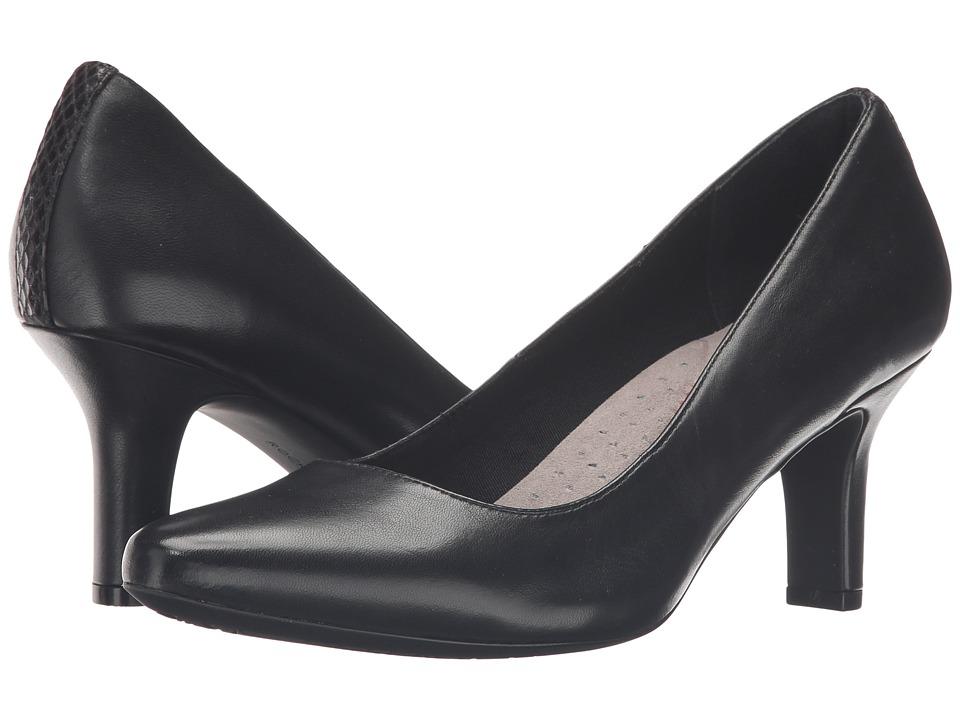 Rockport - Sharna Shasmeen (Black Leather) High Heels