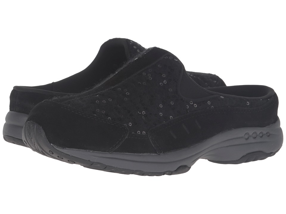 Easy Spirit - Traveltime 229 (Black/Black Suede) Women's Shoes