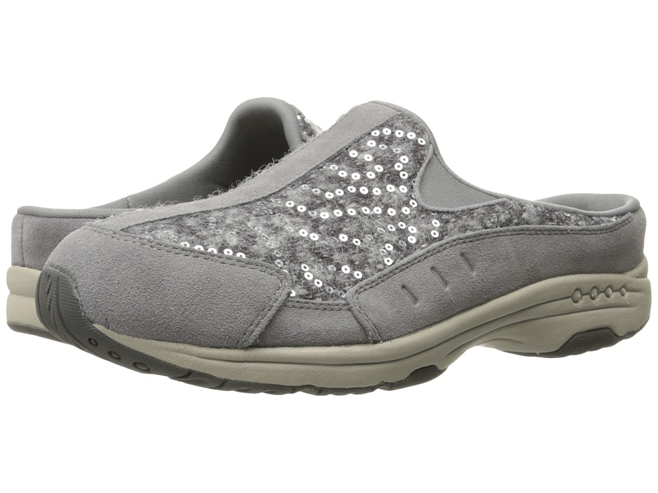Easy Spirit - Traveltime 229 (Light Grey/Light Grey Suede) Women's Shoes