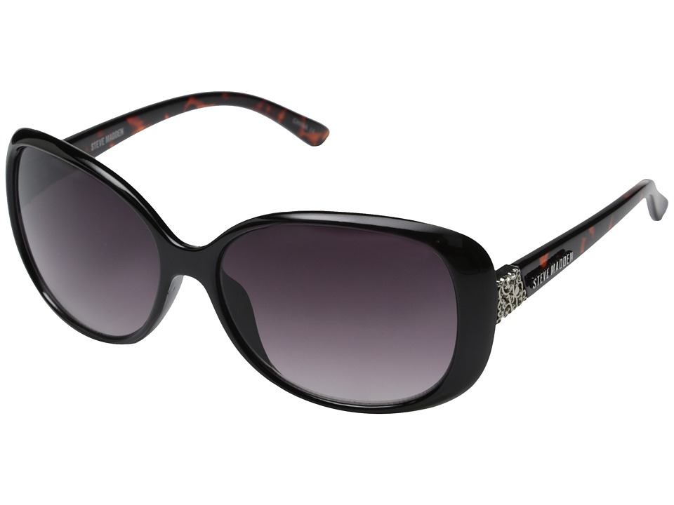 Steve Madden - Mae (Black Tortoise) Fashion Sunglasses