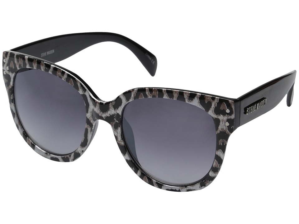 Steve Madden - Mae (Brown Animal) Fashion Sunglasses