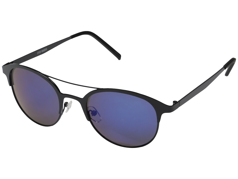 Steve Madden - Tayli (Black/Blue) Fashion Sunglasses