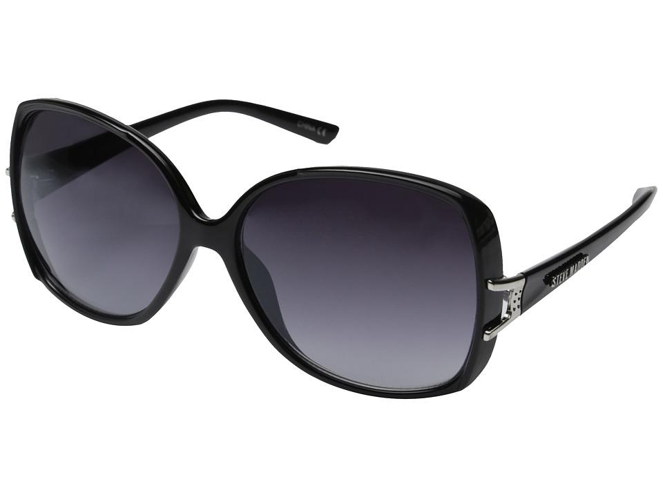 Steve Madden - Ella (Black) Fashion Sunglasses