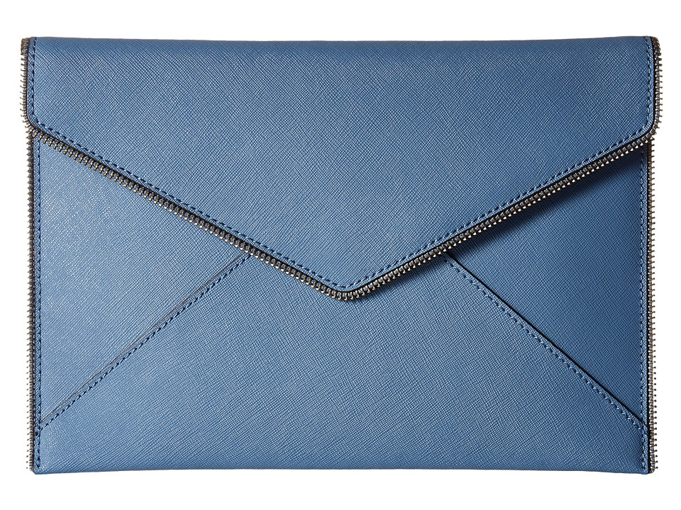 Rebecca Minkoff - Leo Clutch (Dusty Blue) Clutch Handbags