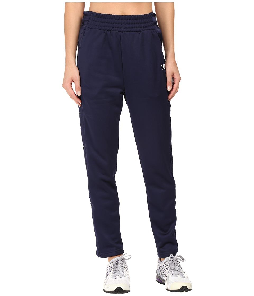 PUMA - T7 Pop Up Pants (Peacoat) Women's Casual Pants