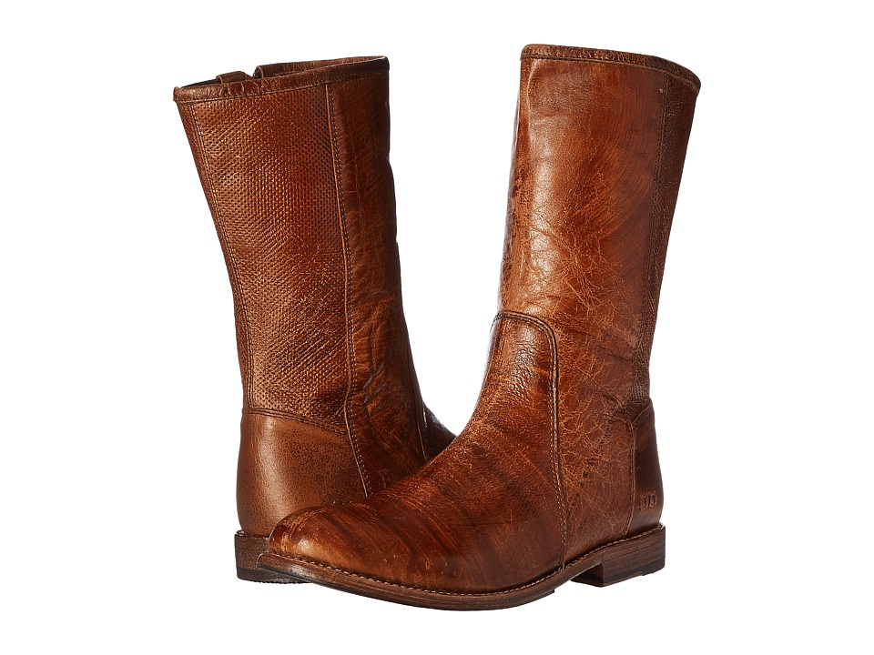 Bed Stu - Annette (Caramel Lux Leather) Women's Boots