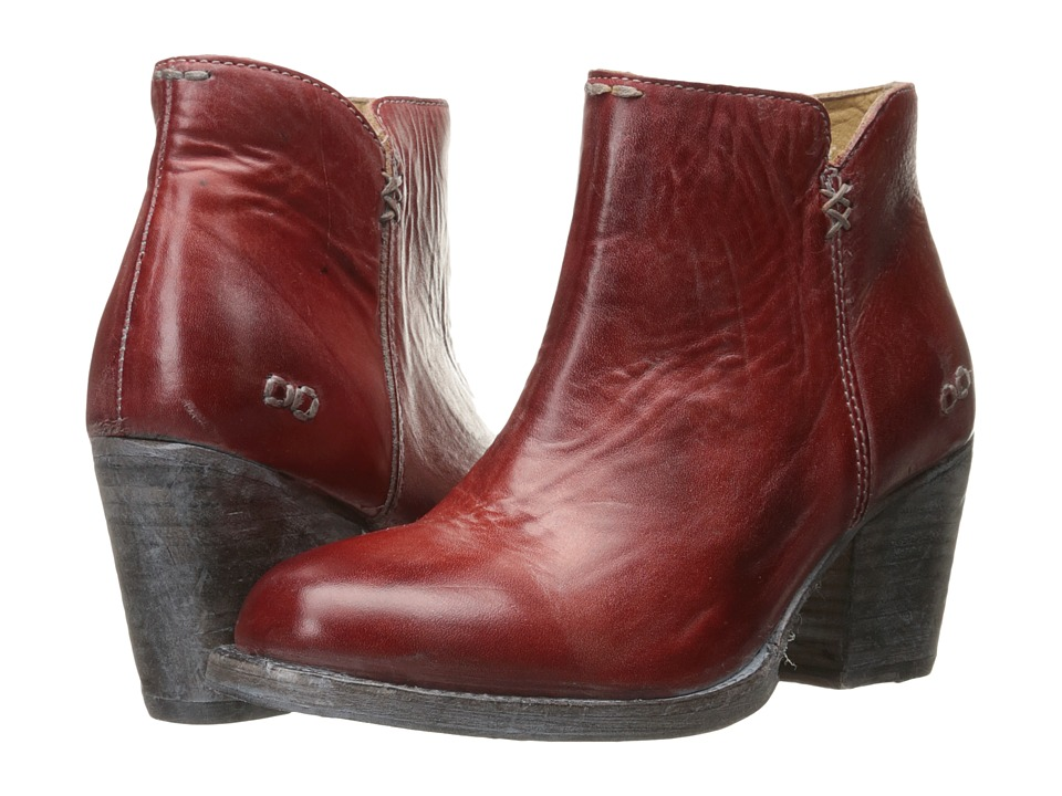 Bed Stu - Yell (Red Rustic/Blue Leather) Women's Boots