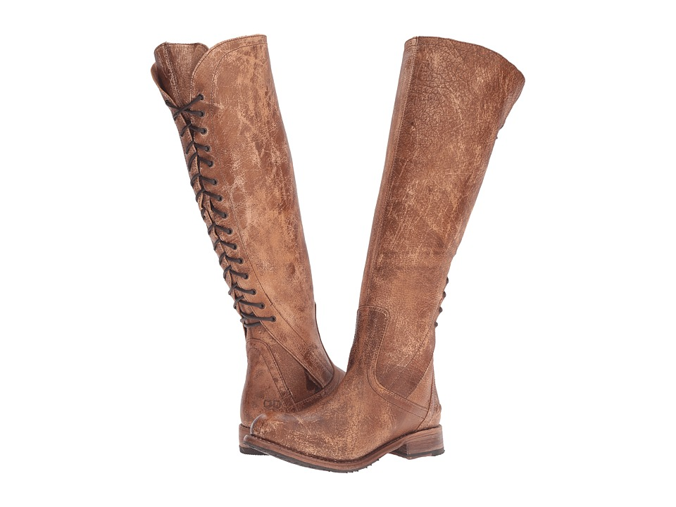 Bed Stu - Surrey (Caramel Lux Leather) Women's Boots