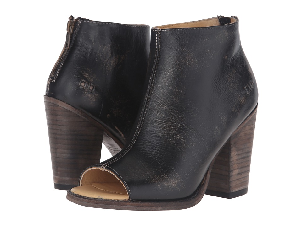 Bed Stu - Onset (Black Handwash Leather) Women's Boots