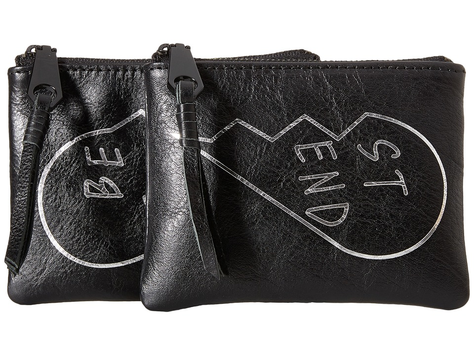 Rebecca Minkoff - Betty Pouch - Best Friends (Black) Travel Pouch