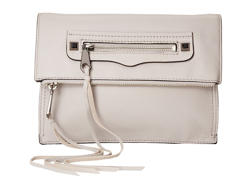 Rebecca Minkoff Small Regan Clutch (Putty) Clutch Handbags