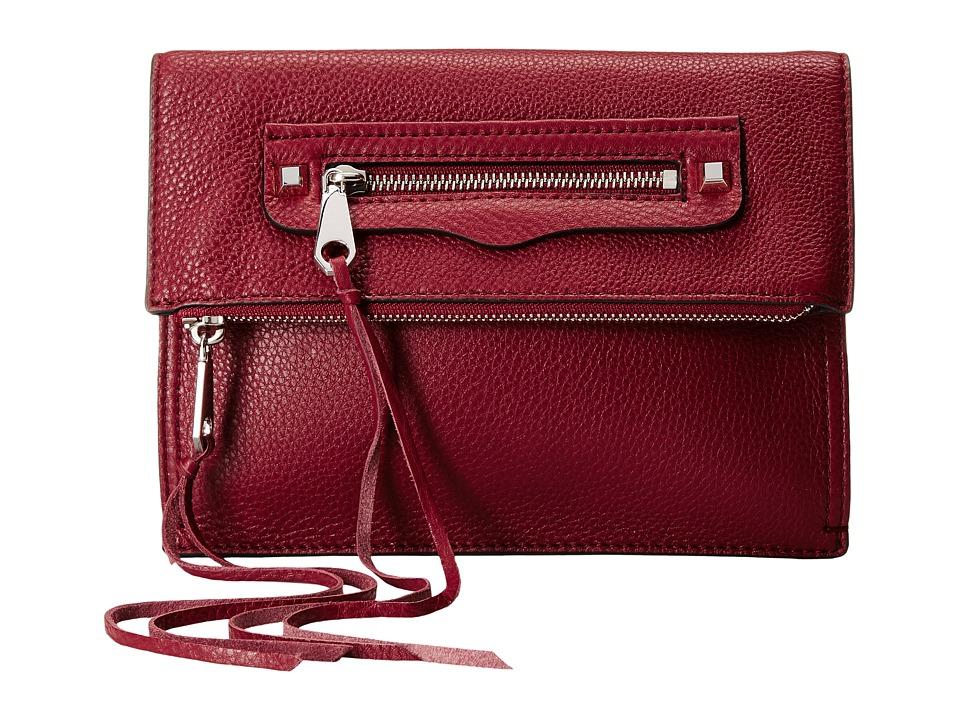 Rebecca Minkoff - Small Regan Clutch (Tawny Port) Clutch Handbags