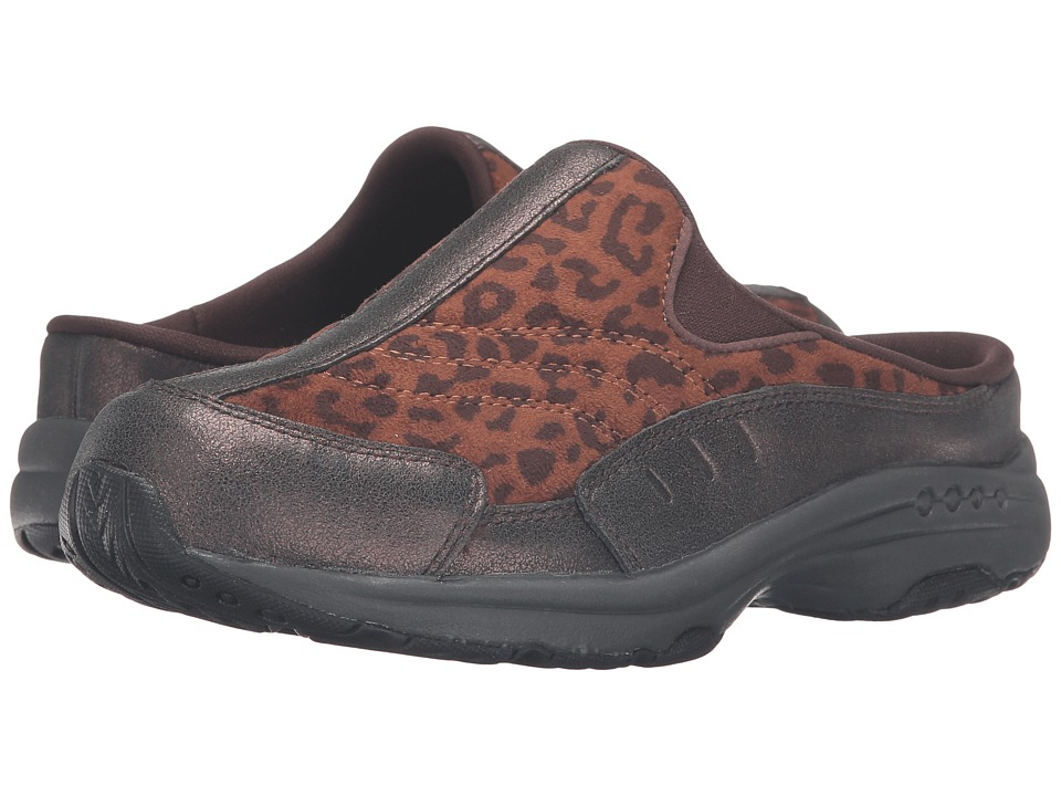 Easy Spirit - Traveltime 63 (Dark Brown/Brown Multi Suede) Women's Shoes