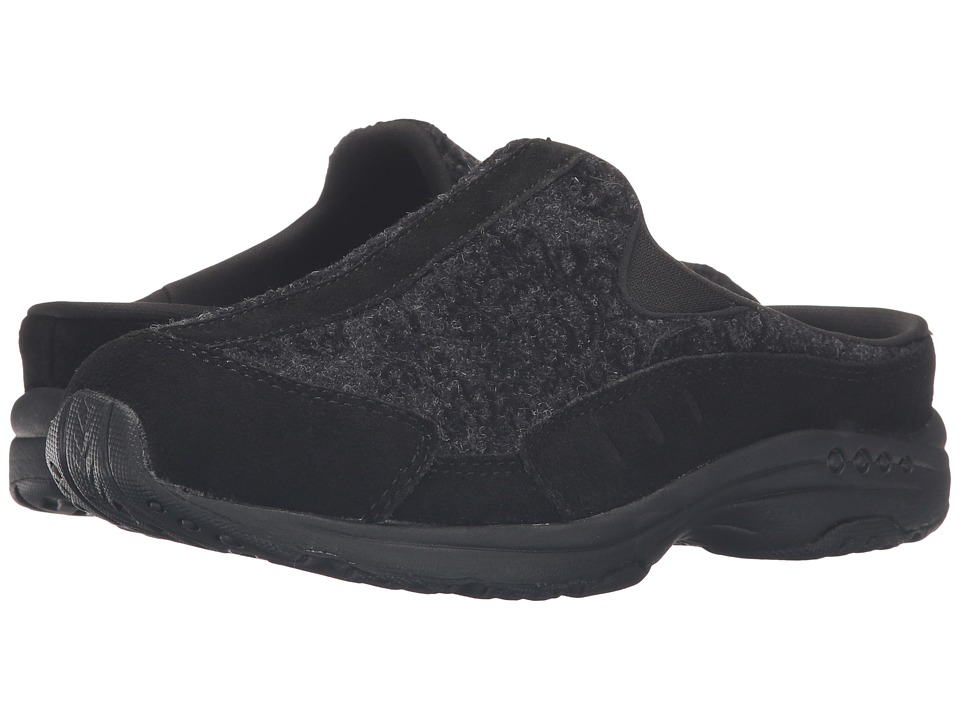Easy Spirit - Traveltime 232 (Black/Dark Grey Multi Suede) Women's Shoes