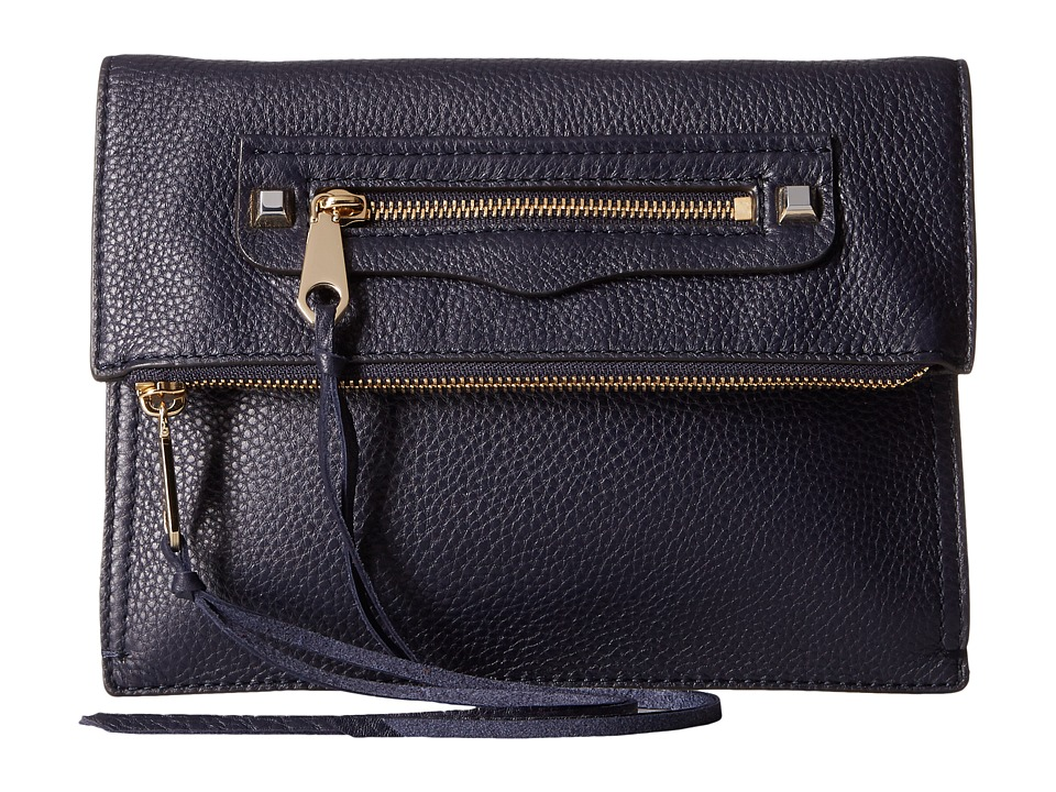 Rebecca Minkoff Small Regan Clutch (Moon) Clutch Handbags