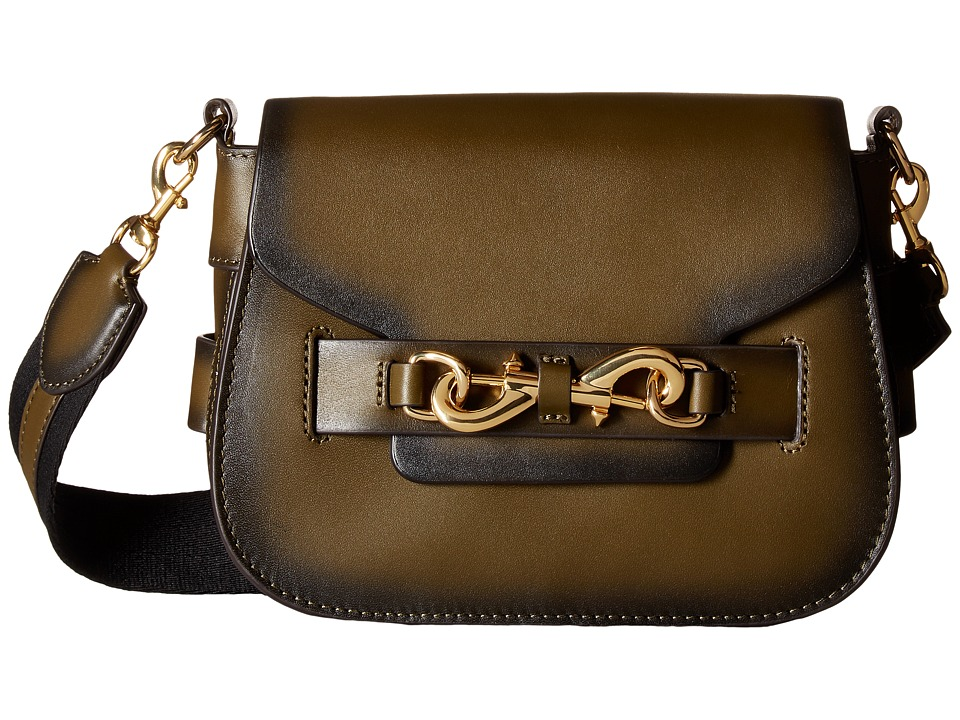 Rebecca Minkoff - Florence Saddle (Olive) Handbags