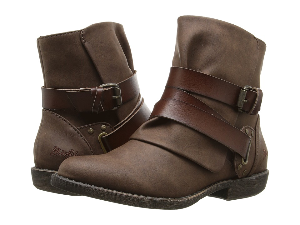 Blowfish - Alias (Coffee Texas PU/Whiskey Dyecut PU) Women's Boots