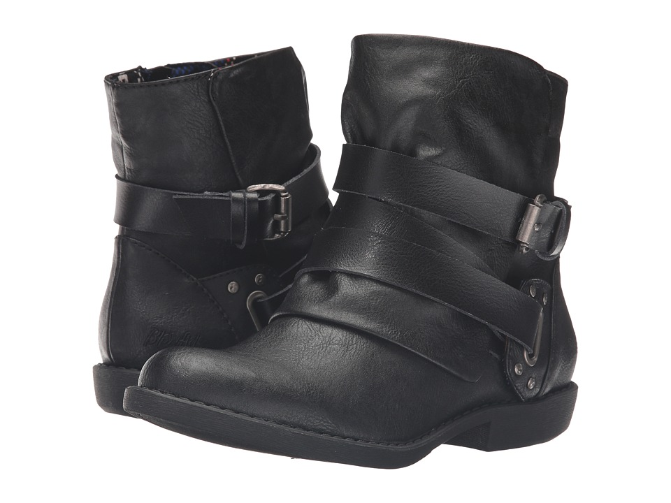 Blowfish - Alias (Black Old Ranger/Dyecut PU) Women's Boots