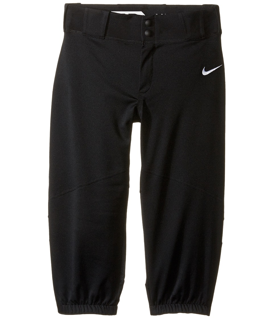 Nike Kids - Vapor Pro High Pants (Little Kids/Big Kids) (Black/White) Boy's Casual Pants