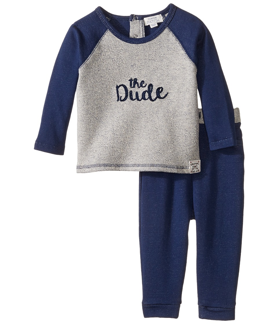 Pumpkin Patch Kids - The Dude Set (Infant) (Parisian Night) Boy's Active Sets