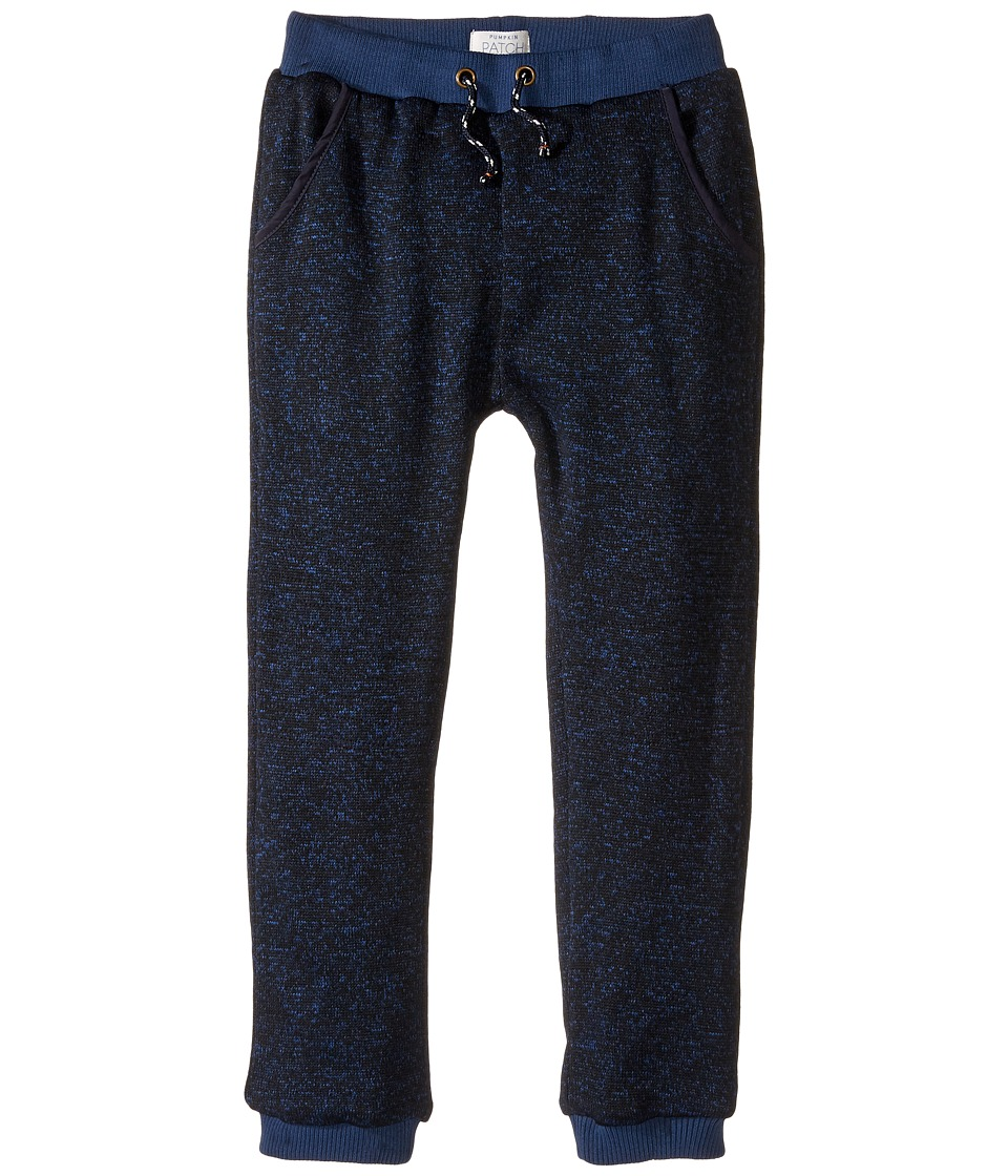 Pumpkin Patch Kids - Blue Knit Pants (Infant/Toddler/Little Kids/Big Kids) (Estate Blue Marle) Boy's Casual Pants