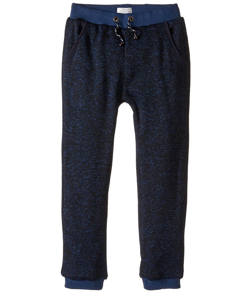 Pumpkin Patch Kids - Blue Knit Pants (Infant/Toddler/Little Kids/Big Kids) (Estate Blue Marle) Boy's Casual Pants