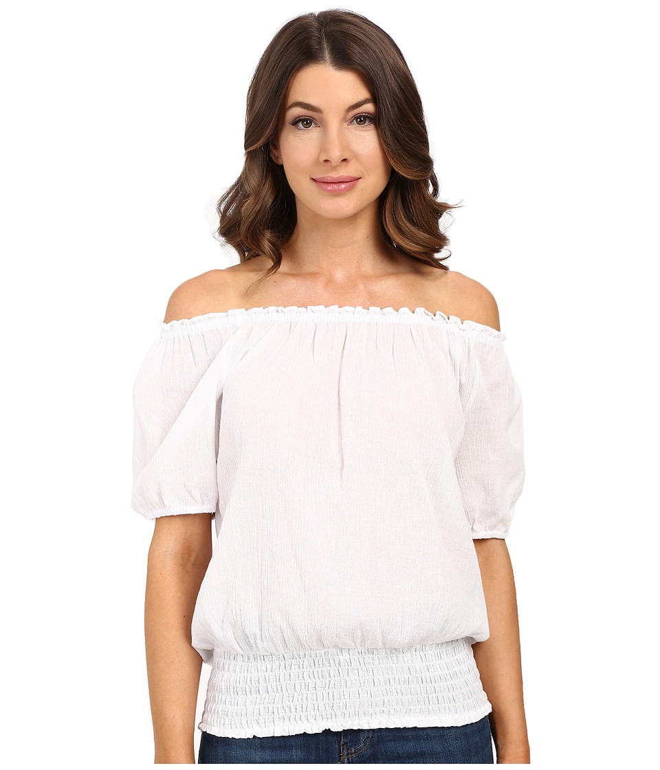 MICHAEL Michael Kors - Off Shoulder Top (White) Women's Blouse