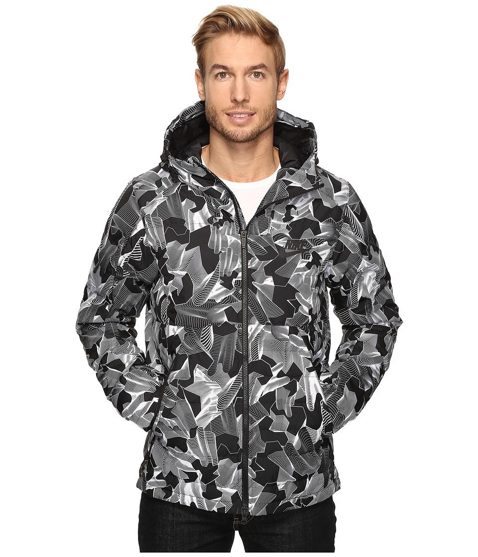 Nike - Sportswear Down Fill HD Jacket (White/Black) Men's Coat