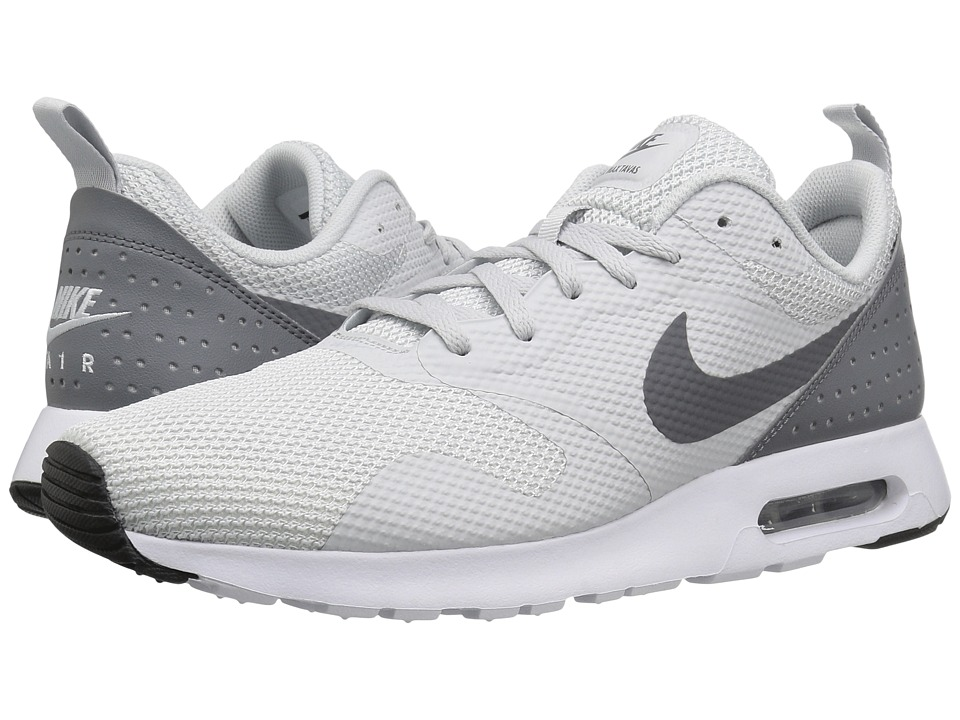 Nike - Air Max Tavas (Pure Platinum/Clear Grey/Black/White) Men's Shoes