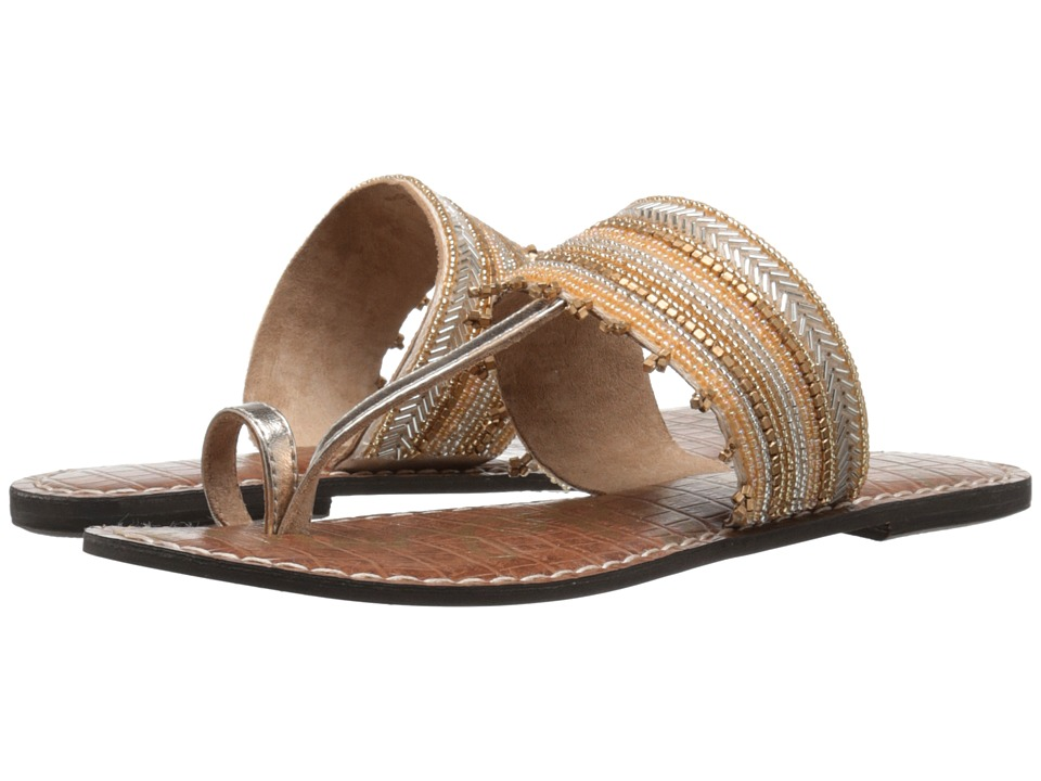 Sam Edelman - Leandra (Saddle/Gold) Women's Sandals