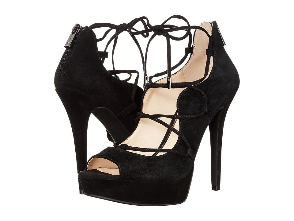 Jessica Simpson - Baylinn (Black Luxe Kid Suede) High Heels