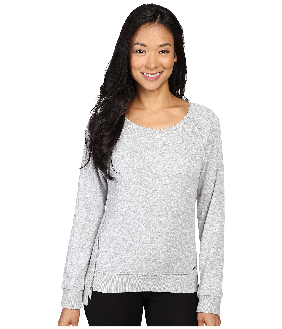 UGG - Morgan Pullover (Seal Heather) Women's Long Sleeve Pullover