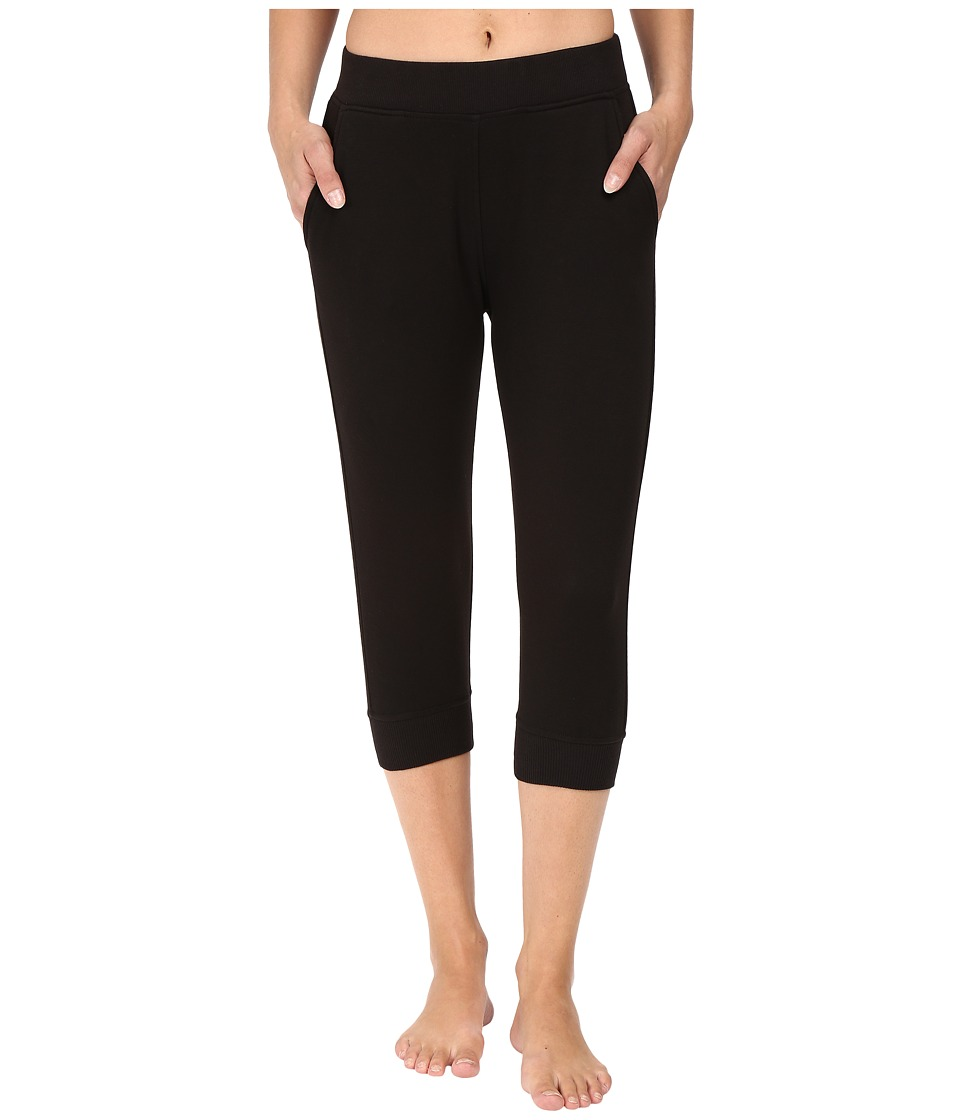 UGG - Hadley Cropped Jogger Pants (Black) Women's Casual Pants