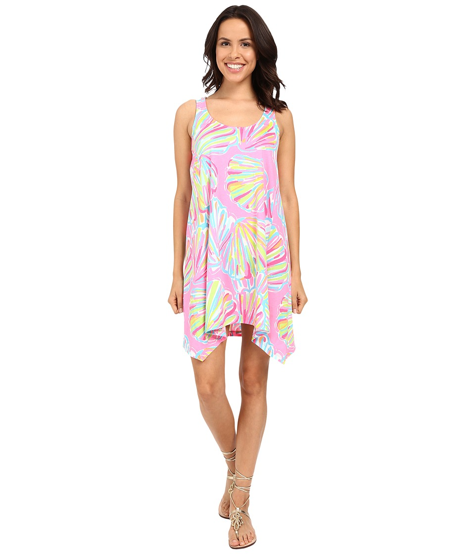 Lilly Pulitzer - Monterey Dress (Pink Pout Shellabrate) Women's Dress