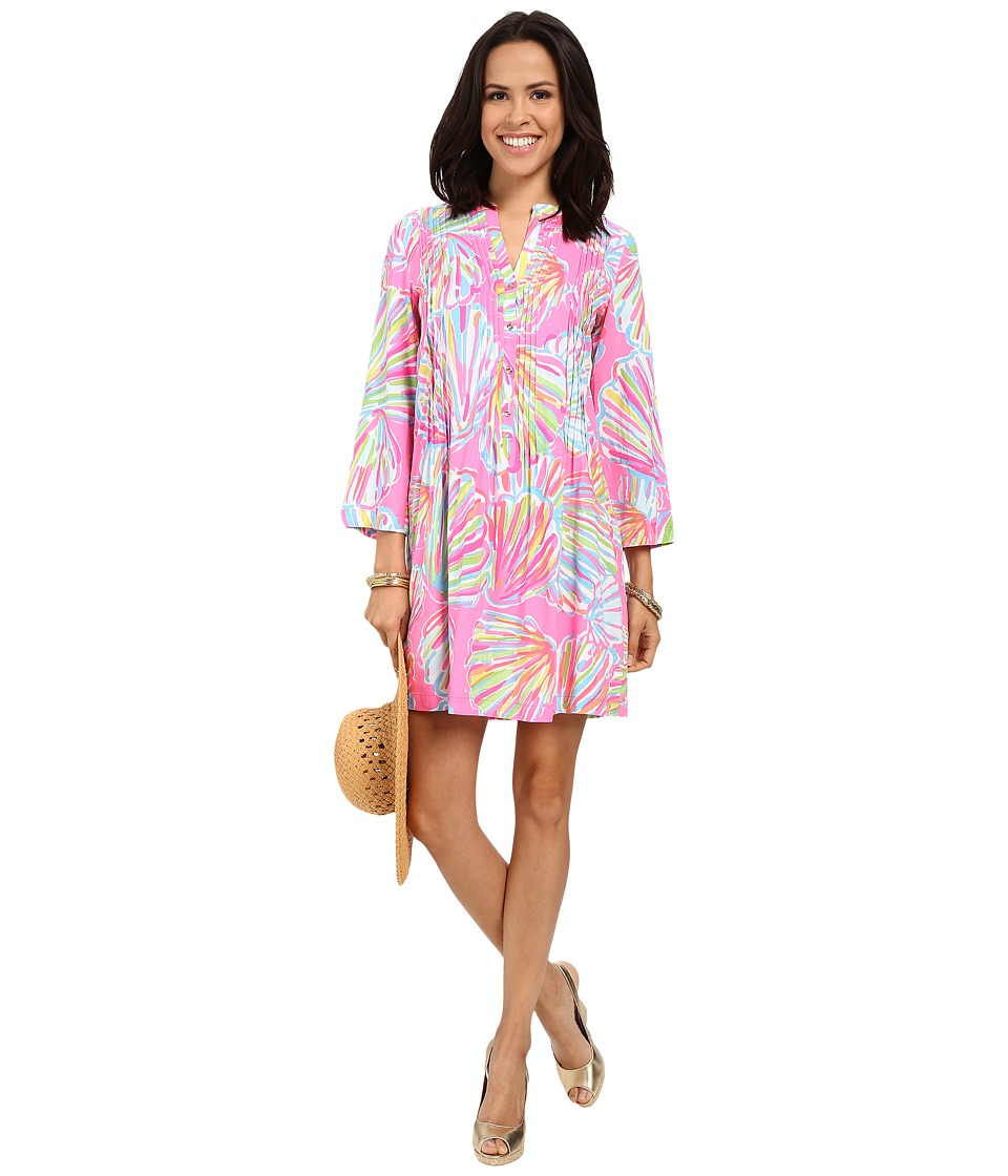 Lilly Pulitzer - Sarasota Tunic (Pink Pout Shellabrate) Women's Dress