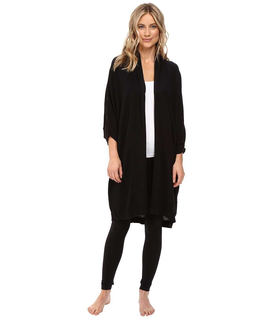 UGG - Nora Cocoon Robe (Black) Women's Robe