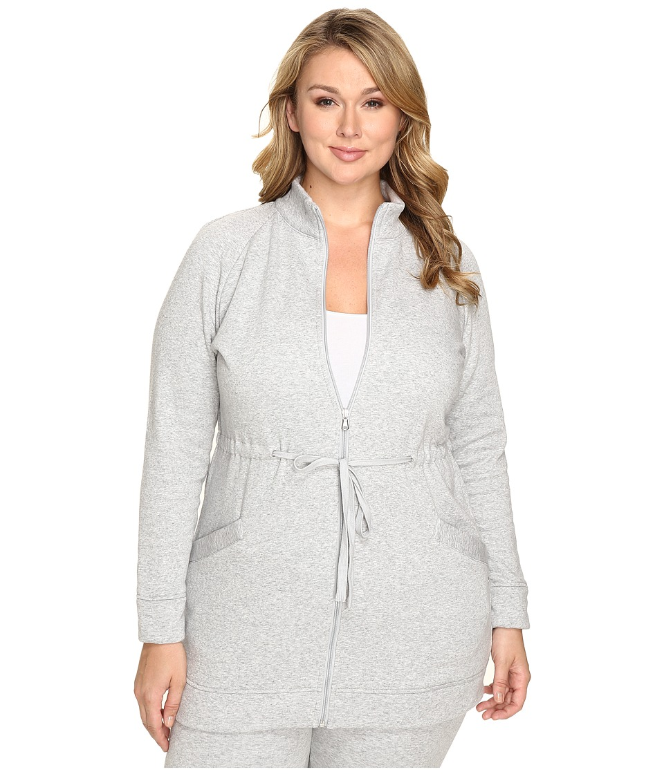 UGG - Plus Size Raleigh Jacket (Seal Heather) Women's Coat