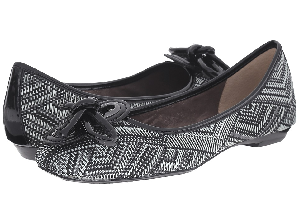 J. Renee - Edie (Black/White) Women's Shoes