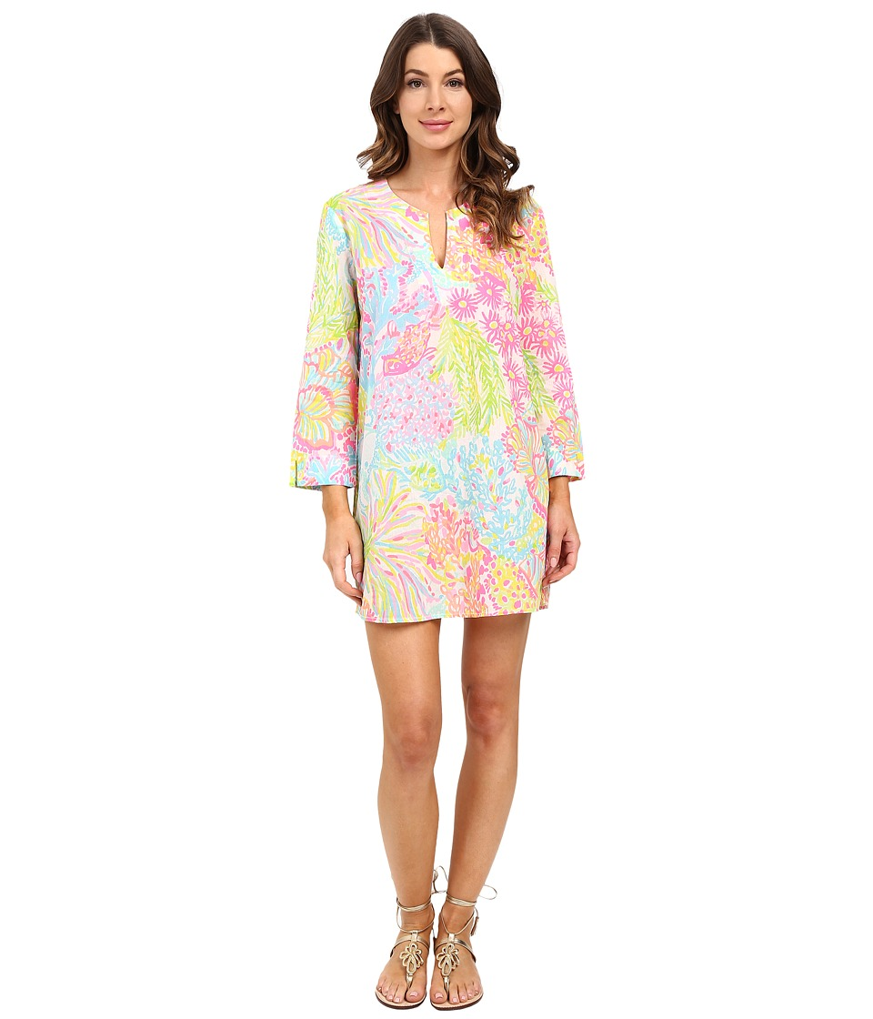 Lilly Pulitzer - Marco Island Tunic (Multi Lovers Coral) Women's Dress