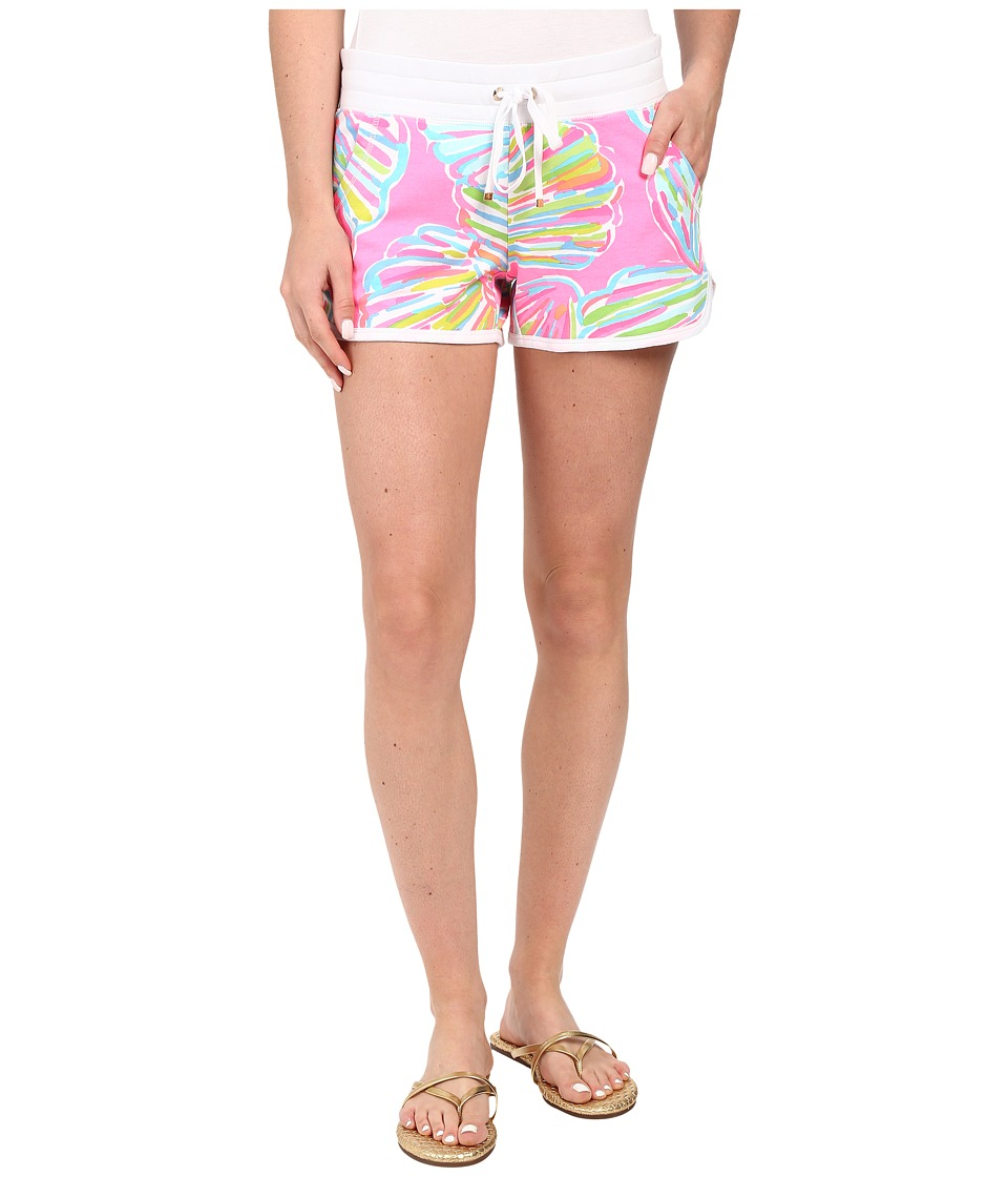Lilly Pulitzer - Chrissy Shorts (Pink Pout Shellabrate) Women's Shorts