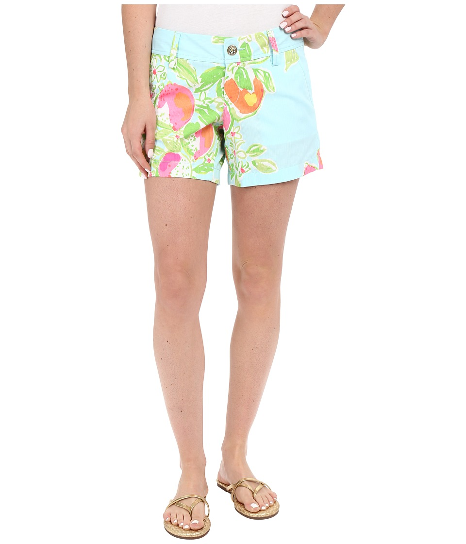 Lilly Pulitzer - Callahan Shorts (Pool Blue Pink Lemonade) Women's Shorts