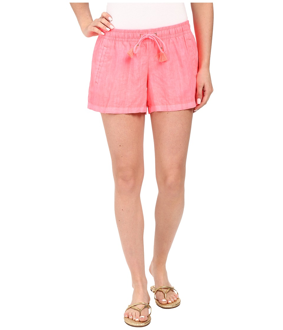 Lilly Pulitzer - Beach Shorts (Pink Sun Ray) Women's Shorts