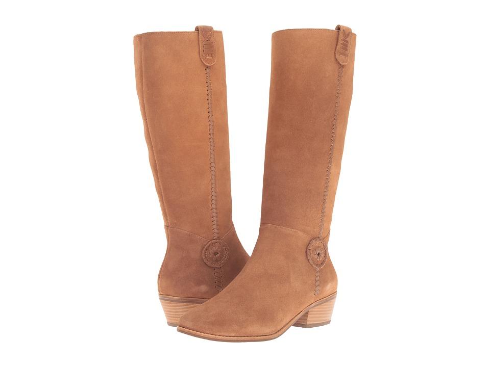 Jack Rogers - Sawyer (Oak Suede) Women's Zip Boots