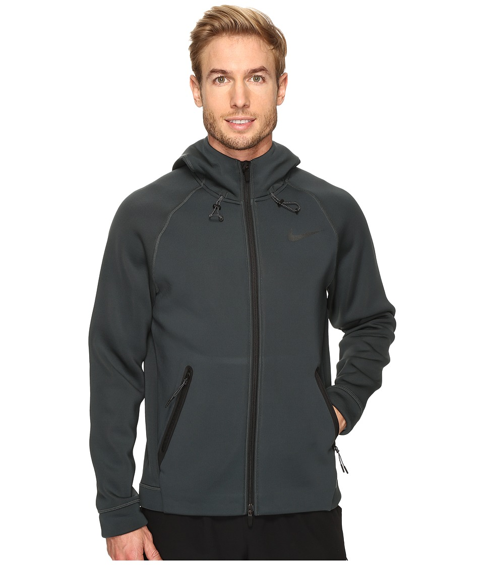 Nike Therma-Sphere Max Training Hoodie (Seaweed/Cannon/Black) Men
