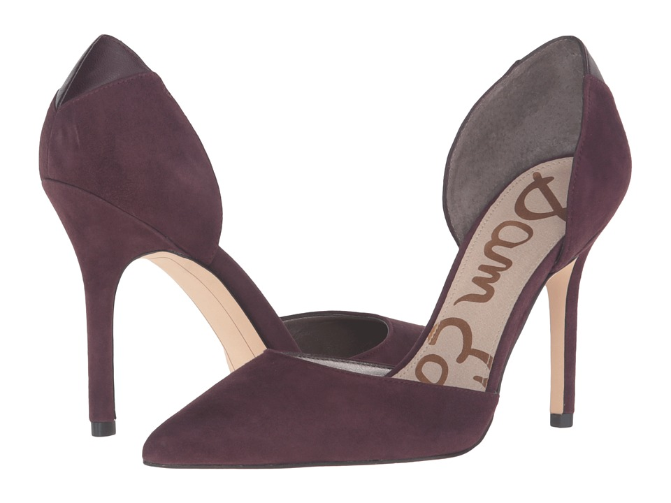 Sam Edelman - Delilah (New Burgundy Suede) High Heels